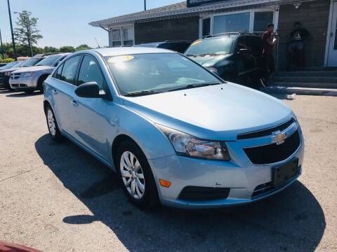 2011 Chevrolet Cruze for sale at I57 Group Auto Sales in Country Club Hills IL