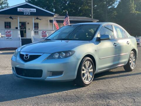 2007 Mazda MAZDA3 for sale at CVC AUTO SALES in Durham NC