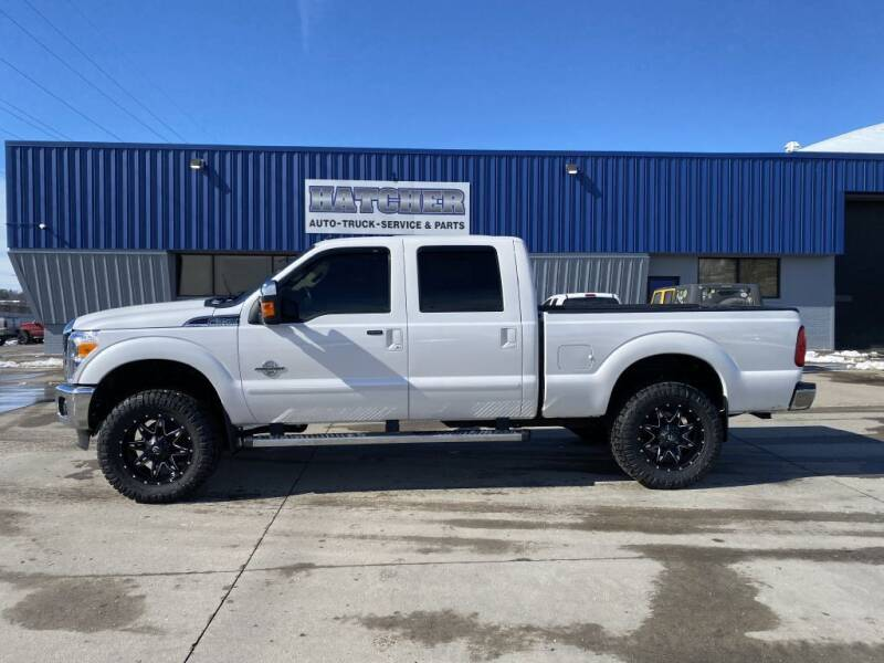 2015 Ford F-350 Super Duty for sale at HATCHER MOBILE SERVICES & SALES in Omaha NE