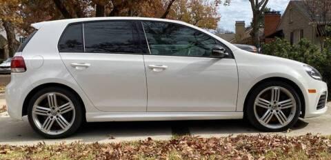 2012 Volkswagen Golf R for sale at Mankin Custom Motors, LLC in Addison TX