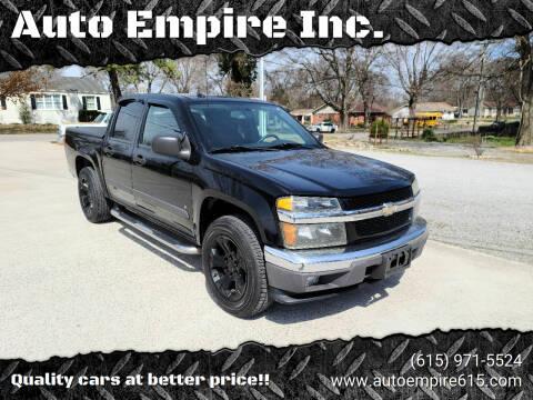 2008 Chevrolet Colorado for sale at Auto Empire Inc. in Murfreesboro TN