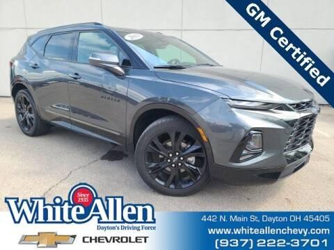 2019 Chevrolet Blazer for sale at WHITE-ALLEN CHEVROLET in Dayton OH