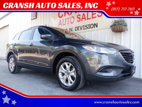 2014 Mazda CX-9 for sale at CRANSH AUTO SALES, INC in Arlington TX