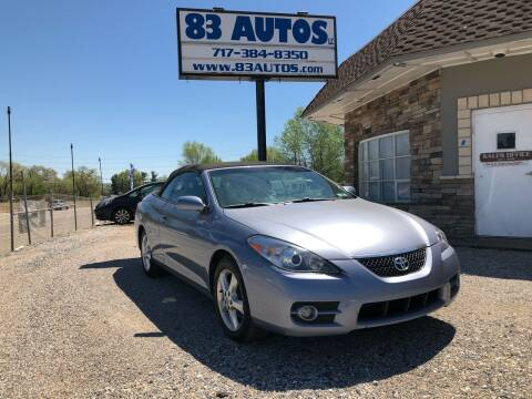 2008 Toyota Camry Solara for sale at 83 Autos in York PA