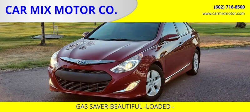 2012 Hyundai Sonata Hybrid for sale at CAR MIX MOTOR CO. in Phoenix AZ