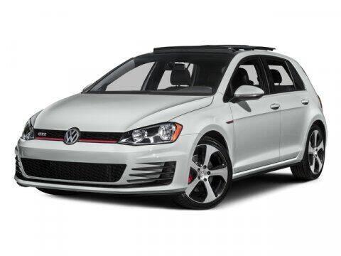 2016 Volkswagen Golf GTI for sale at City Auto Park in Burlington NJ
