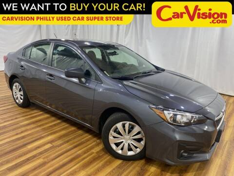 2018 Subaru Impreza for sale at Car Vision Mitsubishi Norristown - Car Vision Philly Used Car SuperStore in Philadelphia PA