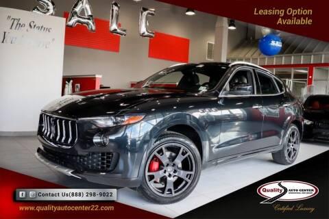 2018 Maserati Levante for sale at Quality Auto Center in Springfield NJ