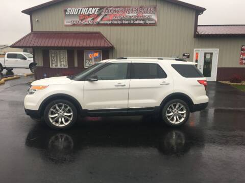 2014 Ford Explorer for sale at Southlake Body Auto Repair & Auto Sales in Hebron IN