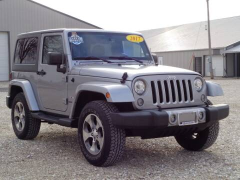 2017 Jeep Wrangler for sale at Burkholder Truck Sales LLC (Edina) in Edina MO