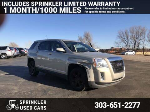 2010 GMC Terrain for sale at Sprinkler Used Cars in Longmont CO