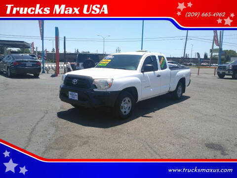 2013 Toyota Tacoma for sale at Trucks Max USA in Manteca CA