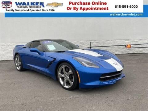 2014 Chevrolet Corvette for sale at WALKER CHEVROLET in Franklin TN
