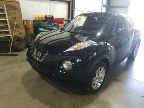 2012 Nissan JUKE for sale at Hometown Automotive Service & Sales in Holliston MA