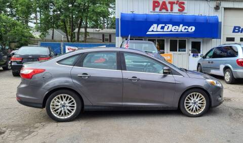 2012 Ford Focus for sale at Route 107 Auto Sales LLC in Seabrook NH