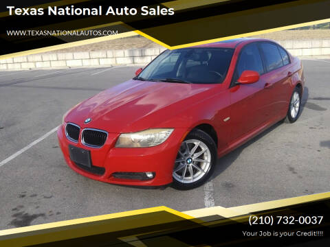 2010 BMW 3 Series for sale at Texas National Auto Sales in San Antonio TX