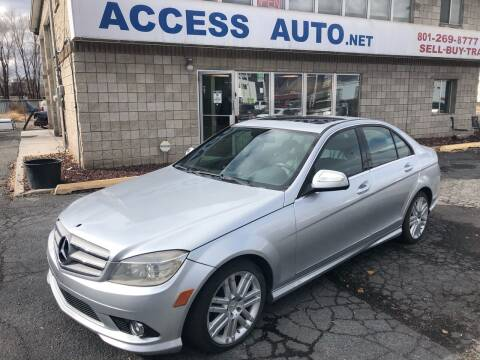 2009 Mercedes-Benz C-Class for sale at Access Auto in Salt Lake City UT