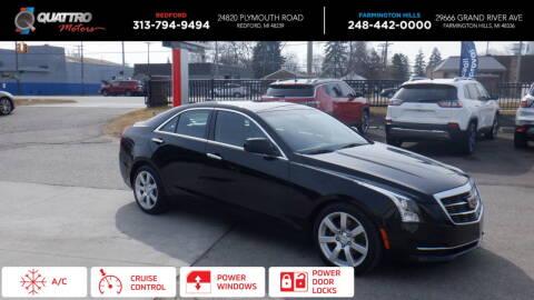 2015 Cadillac ATS for sale at Quattro Motors 2 - 1 in Redford MI