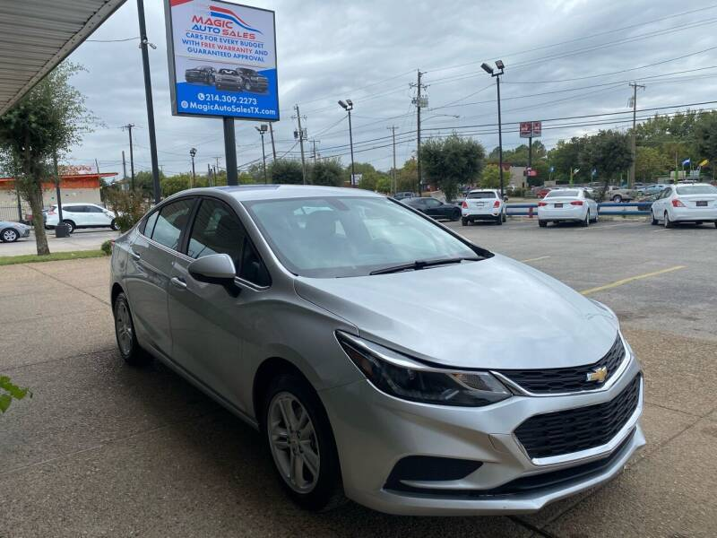 2018 Chevrolet Cruze for sale at Magic Auto Sales in Dallas TX