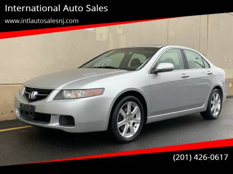 2005 Acura TSX for sale at International Auto Sales in Hasbrouck Heights NJ