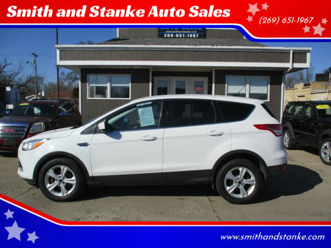 2014 Ford Escape for sale at Smith and Stanke Auto Sales in Sturgis MI