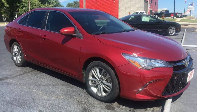 2015 Toyota Camry for sale at G L TUCKER AUTO SALES in Joplin MO