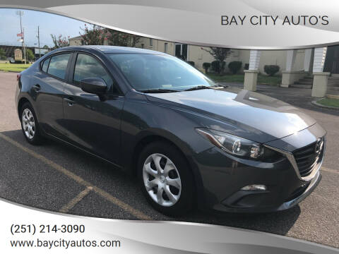 2014 Mazda MAZDA3 for sale at Bay City Auto's in Mobile AL