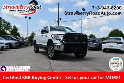2015 Toyota Tundra for sale at Strawberry Road Auto Sales in Pasadena TX