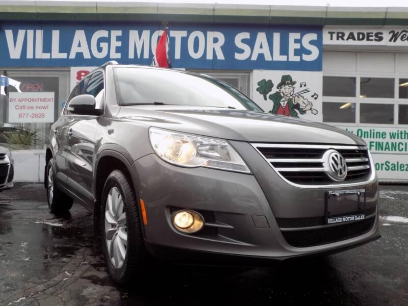 2011 Volkswagen Tiguan for sale at Village Motor Sales in Buffalo NY