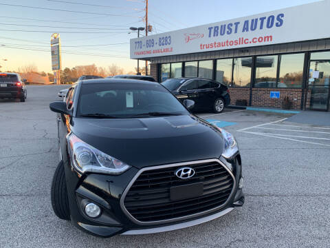 2016 Hyundai Veloster for sale at Trust Autos, LLC in Decatur GA