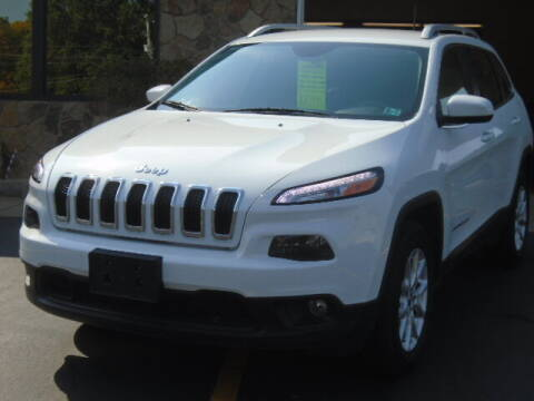 2017 Jeep Cherokee for sale at Rogos Auto Sales in Brockway PA