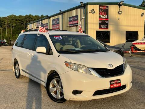 2013 Toyota Sienna for sale at Premium Auto Group in Humble TX