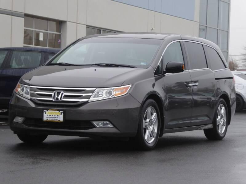 2012 Honda Odyssey for sale at Loudoun Used Cars - LOUDOUN MOTOR CARS in Chantilly VA
