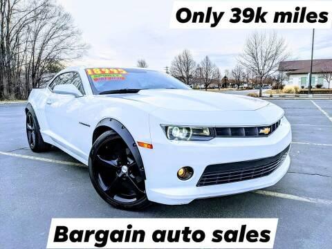 2015 Chevrolet Camaro for sale at Bargain Auto Sales LLC in Garden City ID