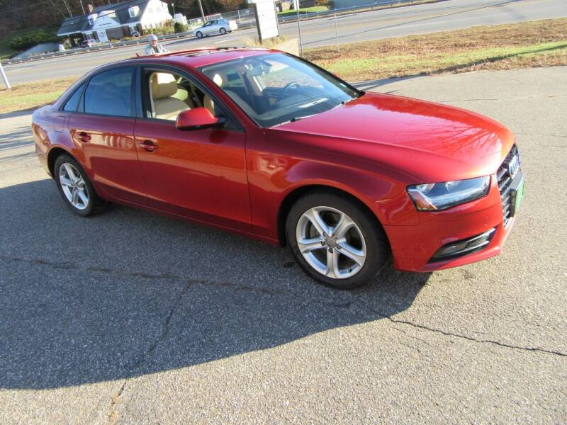 2013 Audi A4 for sale at Kar Kraft in Gilford NH