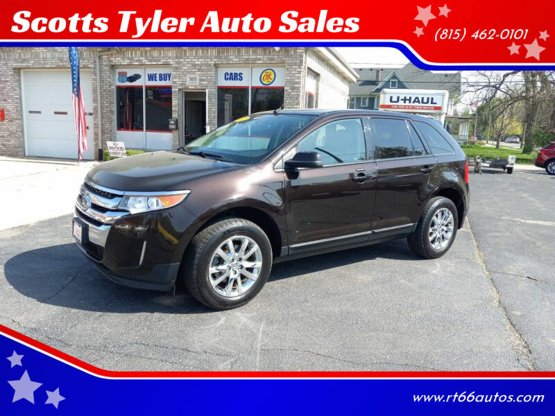 2013 Ford Edge for sale at Scotts Tyler Auto Sales in Wilmington IL