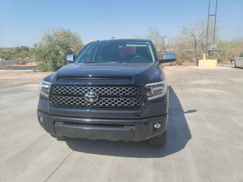 2019 Toyota Tundra for sale at Carzz Motor Sports in Fountain Hills AZ