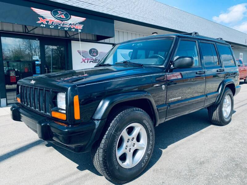 2001 Jeep Cherokee for sale at Xtreme Motors Inc. in Indianapolis IN