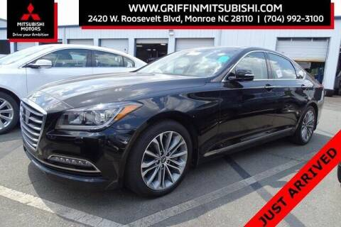 2017 Genesis G80 for sale at Griffin Mitsubishi in Monroe NC