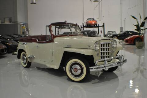 1950 Willys Jeepster 473-VJ for sale at Euro Prestige Imports llc. in Indian Trail NC