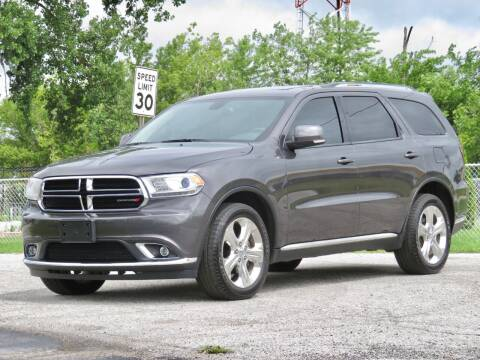 2015 Dodge Durango for sale at Tonys Pre Owned Auto Sales in Kokomo IN