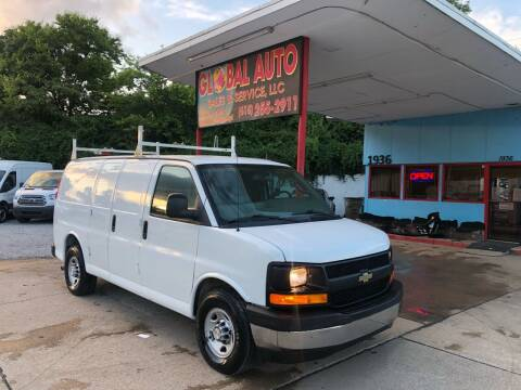 2017 Chevrolet Express Cargo for sale at Global Auto Sales and Service in Nashville TN