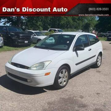 2002 Ford Focus for sale at Dan's Discount Auto in Gaston SC