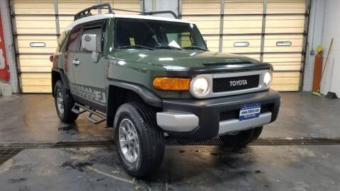 2013 Toyota FJ Cruiser for sale at Falleti Motors, Inc.  est. 1976 in Batavia NY