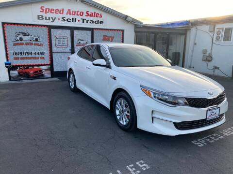 2016 Kia Optima for sale at Speed Auto Sales in El Cajon CA