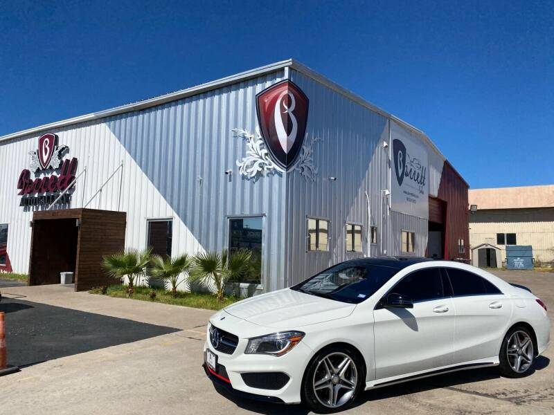 2014 Mercedes-Benz CLA for sale at Barrett Auto Gallery in San Juan TX