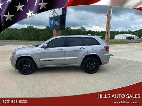 2019 Jeep Grand Cherokee for sale at Hills Auto Sales in Salem AR