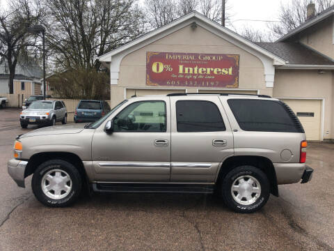 2003 GMC Yukon for sale at Imperial Group in Sioux Falls SD