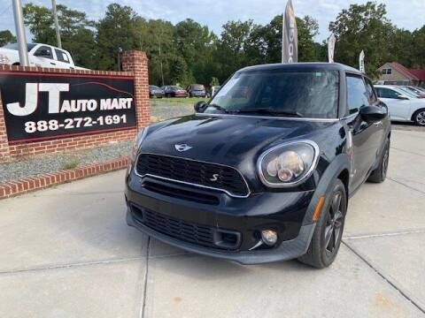 2013 MINI Paceman for sale at J T Auto Group in Sanford NC