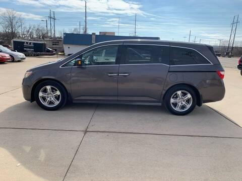 2013 Honda Odyssey for sale at Elite Auto Plaza in Springfield IL